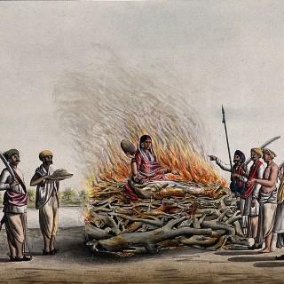 Сати. Почему женщины в Индии все еще сжигают себя заживо - превью